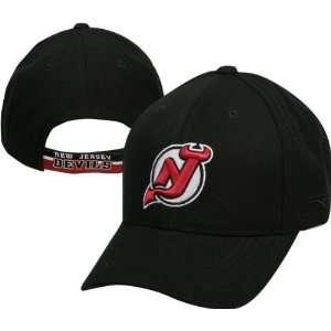 New Jersey Devils Youth Team Logo Adjustable Hat  Sports
