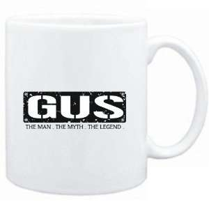 Mug White  Gus  THE MAN   THE MYTH   THE LEGEND  Male