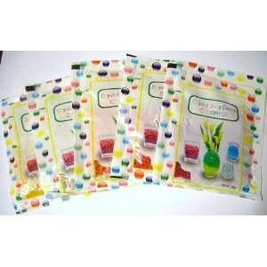 Pack; 5 Color; 14g/pack) Crystal Soil Water Beads  Flower Arrangements