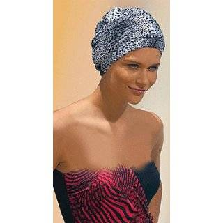 Fashy Cheetah Print PVC Free Shower Cap  Made in Germany