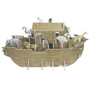 Como Kids 3D Foam DIY Puzzle Noahs Ark Ship Model Piece