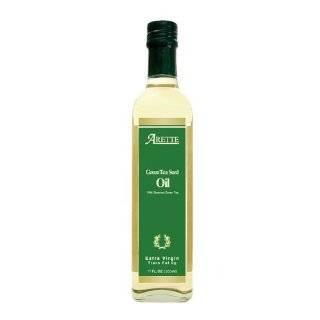 Arette 100% Organic Tea Seed Oil (USDA Certified) extra virgin, cold