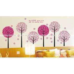 Reusable/removable Decoration Wall Sticker Decal   Passion
