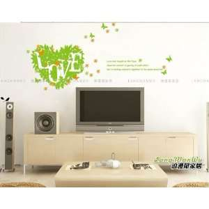 Reusable/removable Decoration Wall Sticker Decal  Love in