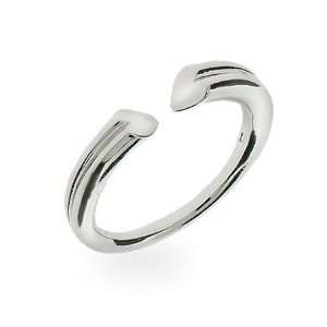 Sterling Silver Tenderness Heart Ring Size 10 (Sizes 6 7 8