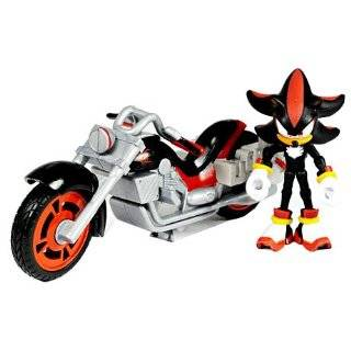 AllStars Racing Vehicle with 3.5 Inch Figure Shadow with Dark Rider