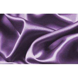 Soft Silky Satin Solid Purple 3 Pieces Deep Pocket Sheet Set for Twin