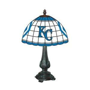 Kansas City Royals Stained Glass Tiffany Table Lamp
