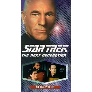 Star Trek   The Next Generation, Episode 135: The Quality of Life [VHS