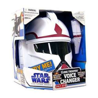 Star Wars Clone Wars Roleplay Toy Exclusive Voice Changer Clone