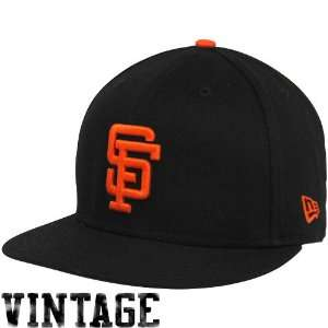 New Era San Francisco Giants Black Back In The Day