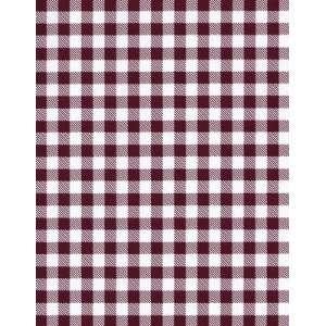 9828 Dark Cherry Vinyl Tablecloth 54 X 75 Roll
