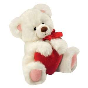 Berrie Smitten The Valentines Day Teddy Bear (10 Inches) Toys & Games