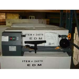 ELECTRIC WOOD LATHE   BENCH TOP 20 INDUSTRIAL TOOL: Home Improvement