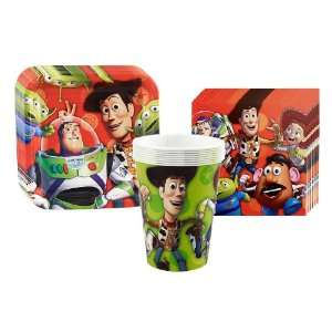 Toy Story 3   3D Party Supplies Pack Including Plates