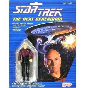 Star Trek  Captain Jean Luc Picard Action Figure Toys & Games