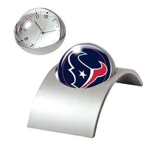 Houston Texans NFL Spinning Desk Clock