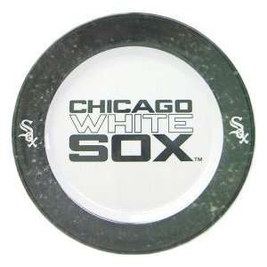 Chicago White Sox 4 Piece Dinner Plate Set  Sports