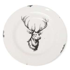 Glitterville Stag Dinner Plate