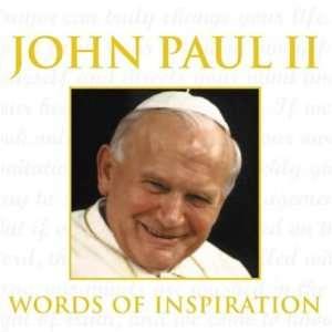 John Paul II Words of Inspiration (9781843570714) John