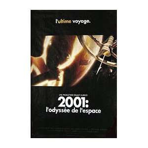2001 A SPACE ODYSSEY (ROLLED FRENCH) Movie Poster