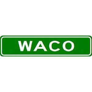 WACO City Limit Sign   High Quality Aluminum  Sports