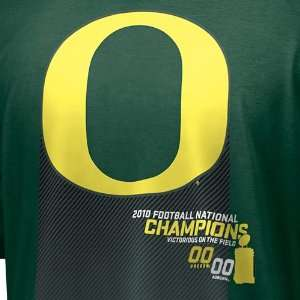 Nike Oregon Ducks Youth Green 2010 BCS National Champions Victory