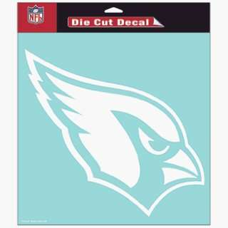 NFL Arizona Cardinals 8 X 8 Die Cut Decal Sports