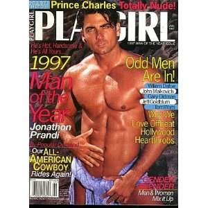 Playgirl Magazine January 1997, Beefcake, Beau Wesley