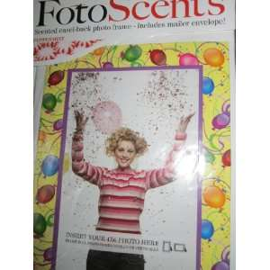 : Foto Scents Scented Easel back Photo Frame includes Mailer Envelope