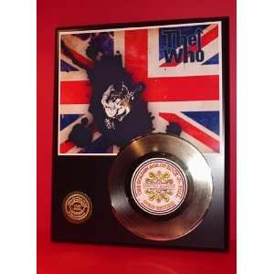 Gold Record Outlet The Who 24KT Gold Record Display LTD