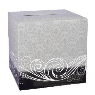 Black and White Wedding Card Box 12 X 12  Home & Kitchen