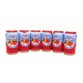 SanPellegrino w/ Blood Orange 6 cans / 11.15 fl oz