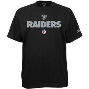 Oakland Raiders Team Marks T Shirt (Black) M