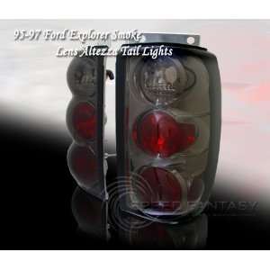 Ford Explorer Tail Lights Smoke 3D Altezza Taillights 1995