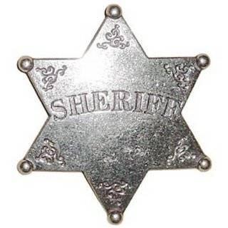 Sheriff 6 Point Obsolete Old West Police Badge: Everything