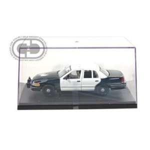 1999 Ford Crown Victoria Blank Police Car 1/27 (Black & 4