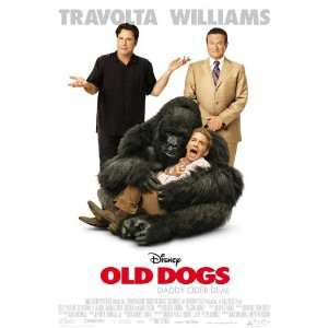 Old Dogs (2009) 27 x 40 Movie Poster German Style A  Home