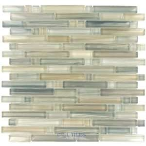 art glass linear mesh mounted glass mosaic in desert Home Improvement