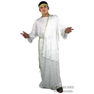 Adult Greek God Costume (Size:Plus Size 48 52): Clothing