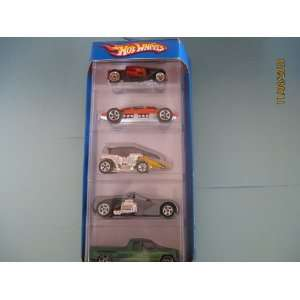 Hot Wheels 5 Gift Pack #L6997 (2007)Hooligan, Lakester, Motorpsycho