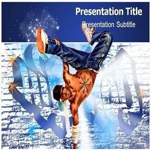 Hip Hop PowerPoint Template   Hip Hop PowerPoint (PPT) Presentation