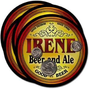 Irene, SD Beer & Ale Coasters   4pk: Everything Else