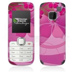 Design Skins for Nokia C1 01   Lila Blumen Design Folie: Electronics