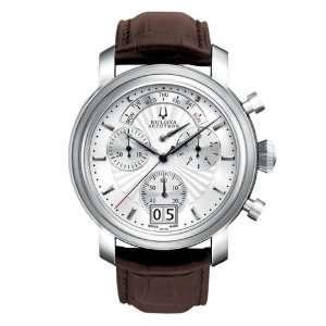 Mens Bulova Accutron Amerigo Chronograph Watch Watches