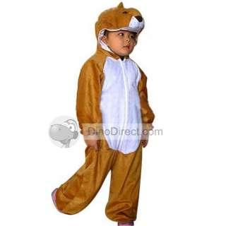 Kids Toddler Halloween Children Baby Cowardly Lion Costume