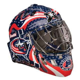 Columbus Blue Jackets NHL Team SX Comp GFM 100 Youth Goalie Mask   NHL