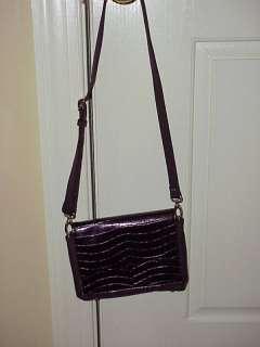 Samantha Mack Microfiber Interchangeable Mini Bag New