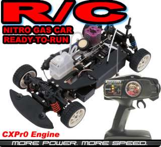 Radio Remote Control RC Nitro Gas Car 2SP 4WD SKYLINE R/C NITRO CAR 55