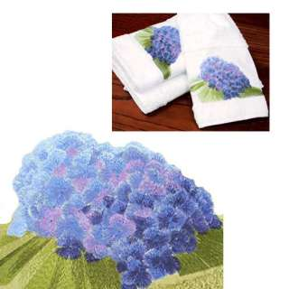 Hydrangea Guest Towel